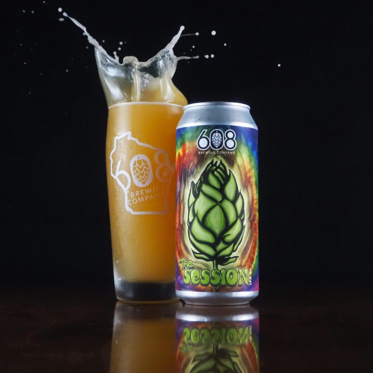 608 The Session • Photo via 608 Brewing