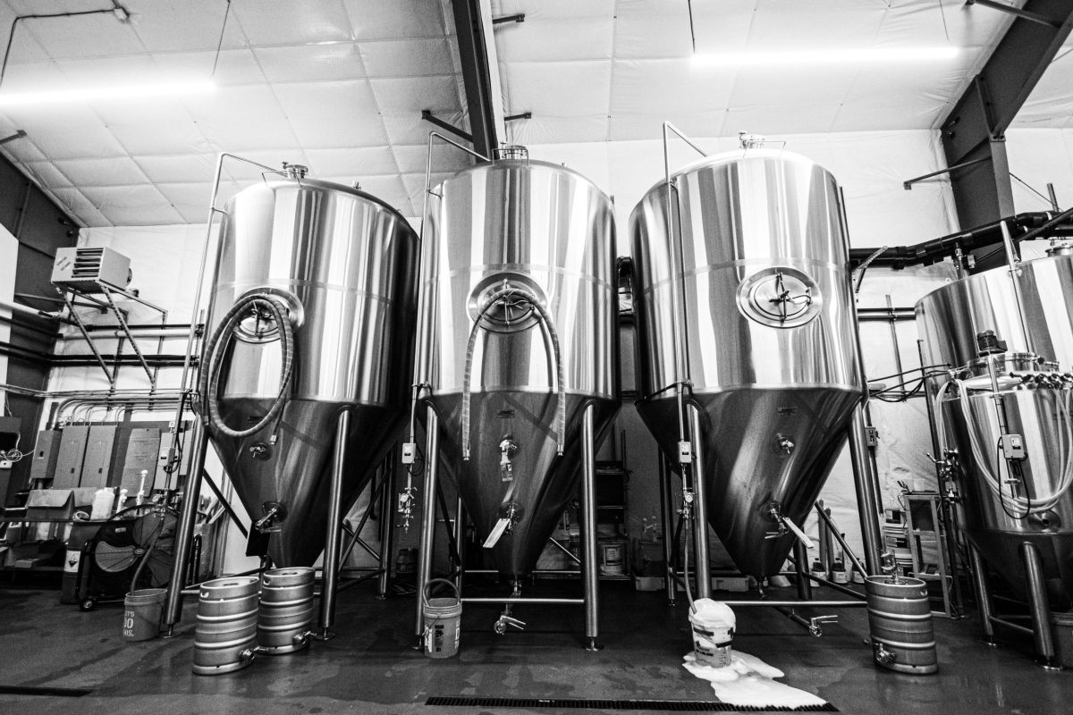 Picture of beer fermenters