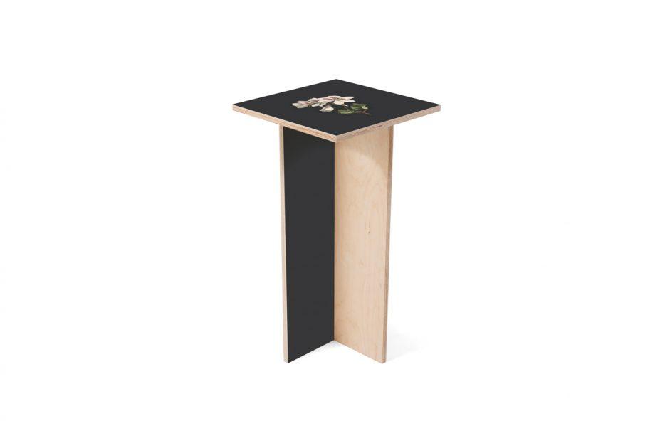 sokkel bloemenstandaard hout uitvaart medium lelie zwart Beerenberg