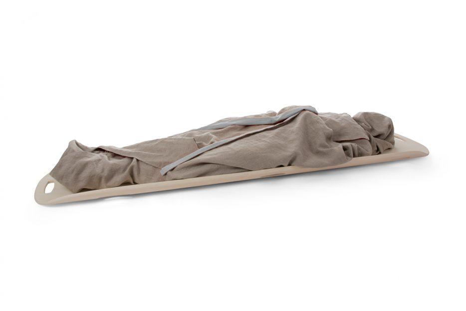 opbaarplank lelie draagbaar hout met kimono wade