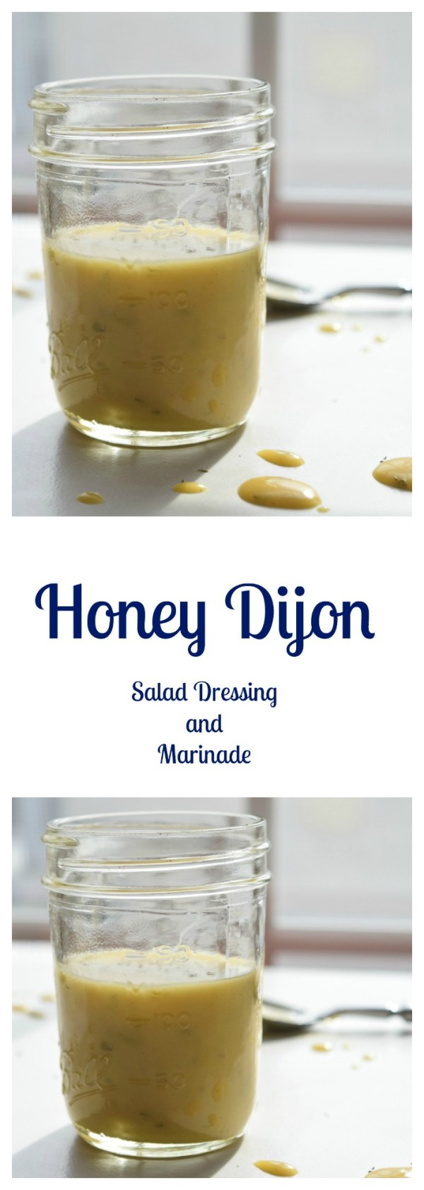 Honey Dijon Salad Dressing and Marinade Beer Girl Cooks