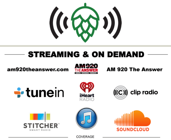 Beer Guys Radio - Live on Atlanta AM 920 The Answer - Streaming and On-Demand via IHeartRadio, Soundclloud, tunein, Clip Radio,, Stitcher, and iTunes Podcast