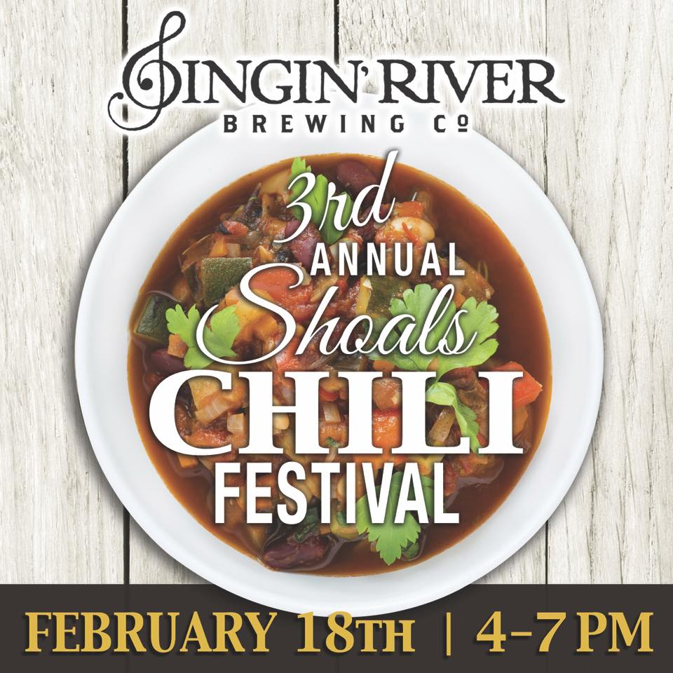 Chili Festival? Chili Festival. Saturday at Singin' River Brewing (courtesy Singin' River Brewing)