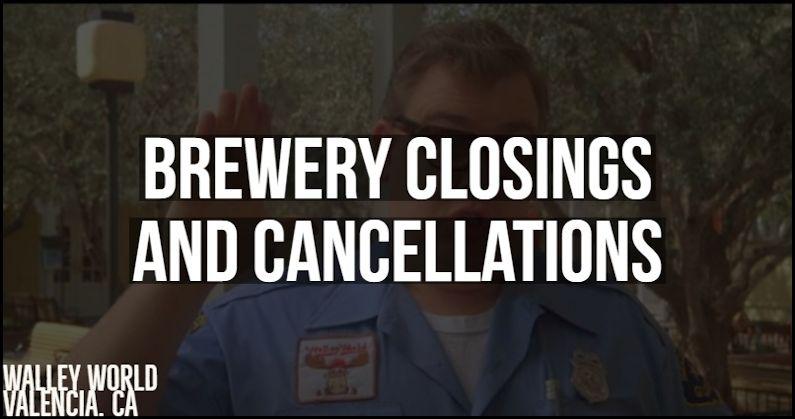 Georgia Brewery Closings