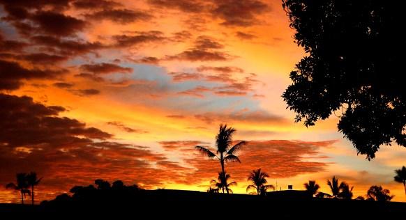 Sunset On Kailua-Kona