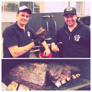 Klimt & MIchael with their BBQ Brisket
