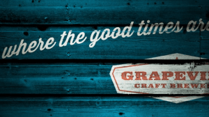 Grapevine Craft Brewery Logo Banner