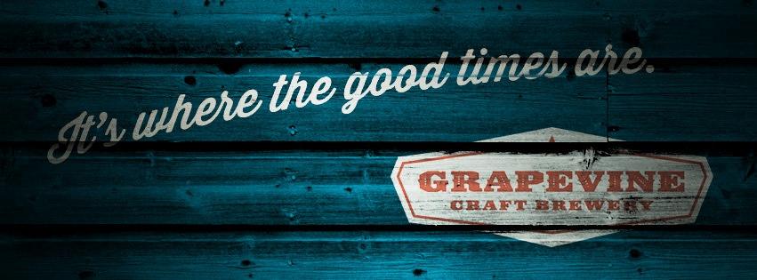 Grapevine Craft Brewery Logo Banner