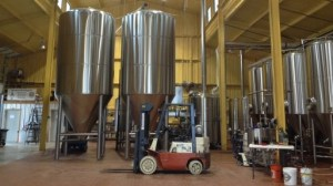 Revolver's Two New 120 Barrel Fermentation Tanks