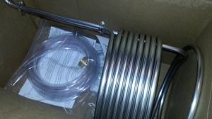 Stainless Steel Immersion Wort Chiller