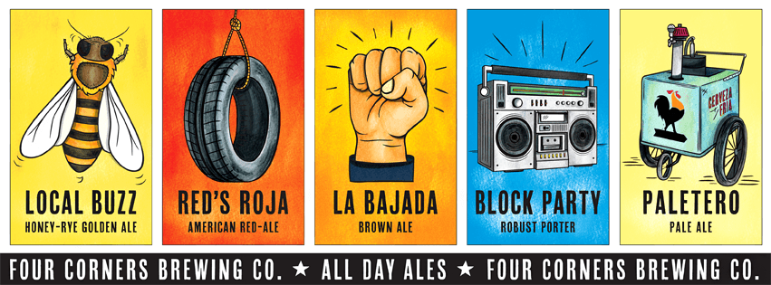 Four Corners Brewing All Day Ales