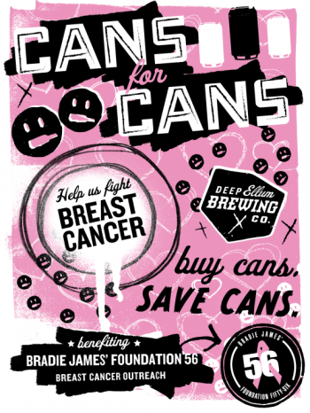 Deep Ellum Brewing Company's Cans for Cans