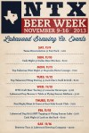 Lakewood NTX Beer Week 2013 Events