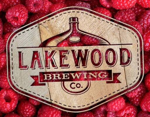 Raspberry Temptress Lakewood Brewing Logo