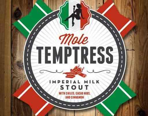 Lakewood Brewing Mole Temptress Label