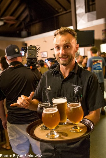 Brew Dogs Filming at Maui Brewing Co-287