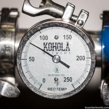 Kohola Brewing Temp Gauge