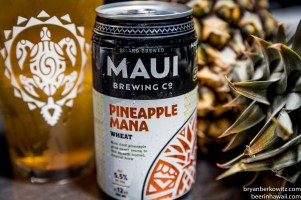 Maui Brewing Company Pineapple Mana Wheat New Can