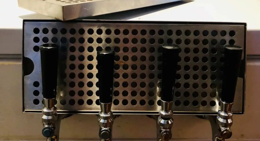 drip tray for keezer