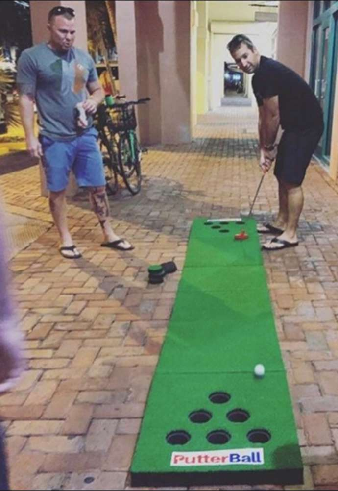 PutterBall game