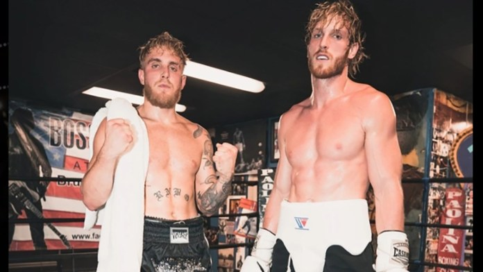 Logan Paul and Jake Paul, boxers and Internet clowns