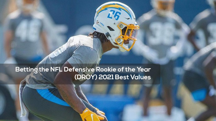 Betting the NFL Defensive Rookie of the Year (DROY) 2021 Best Values