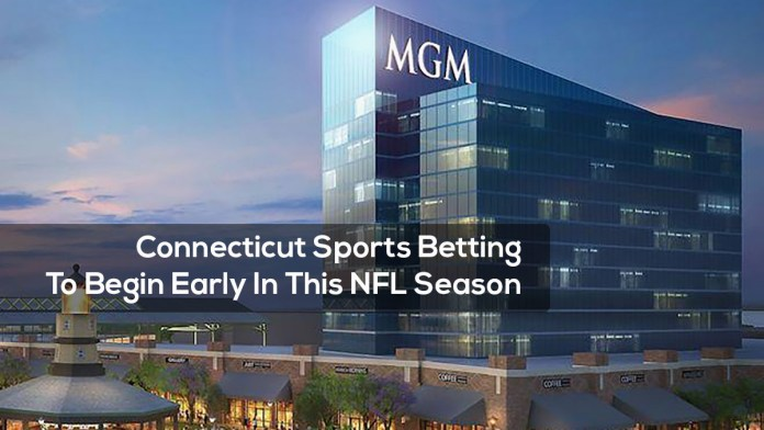 Connecticut Sports Betting To Begin Early In NFL Season
