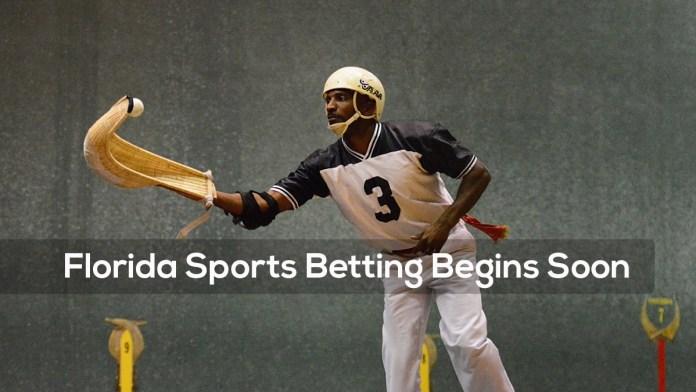Florida Sports Betting Begins Soon