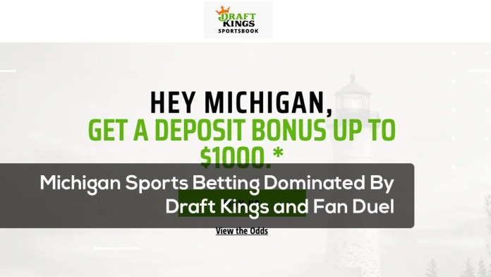 Michigan Sports Betting Dominated By Draft Kings and Fan Duel