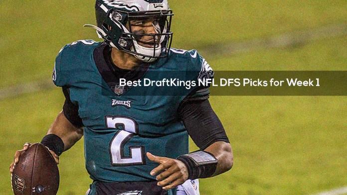 Best DraftKings NFL DFS Picks for Week 1