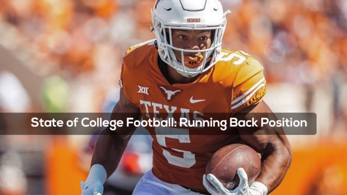 State of College Football- Running Back Position