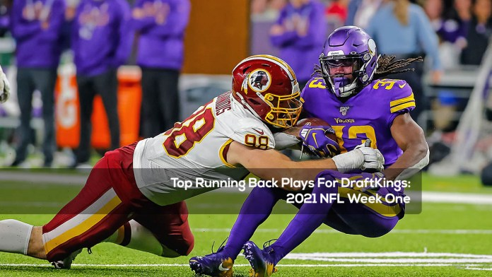 Top Running Back Plays For DraftKings- 2021 NFL Week One