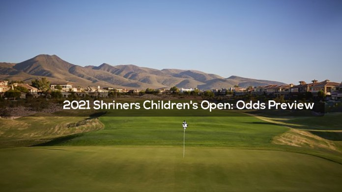 2021 Shriners Children's Open- Odds Preview