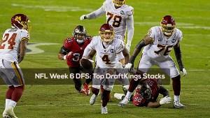 NFL Week 6 DFS: Top DraftKings Stacks