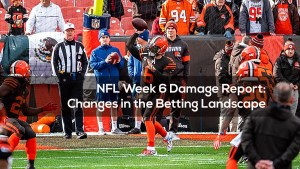 NFL Week 6 Damage Report: Changes in the Betting Landscape