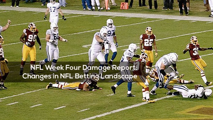 NFL Week Four Damage Report- Changes in NFL Betting Landscape