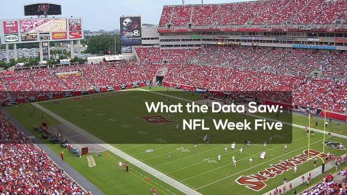What the Data Saw- NFL Week Five