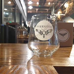Beermoth glassware