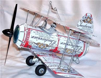 How to Make a Beer Can Airplane
