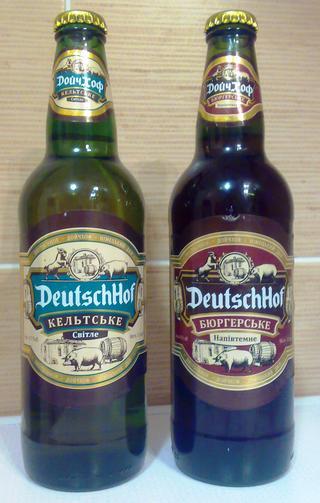 """Пиво """"Дойчхоф"""" от лисичанского пивзавода теперь в стекле ..."""