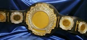 Custom Beer Pong Championship Belt