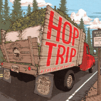 Deschutes Hop Trip Bottle Label