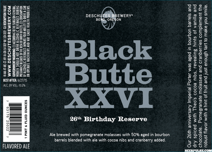 Deschutes Black Butte XXVI