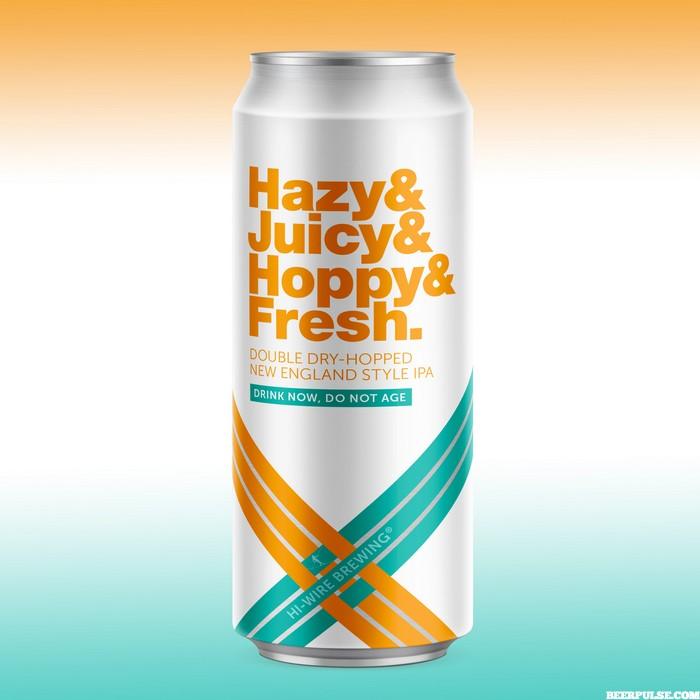 Hi Wire Hazy Amp Juicy Amp Hoppy Amp Fresh Ipa Leads Brewery S