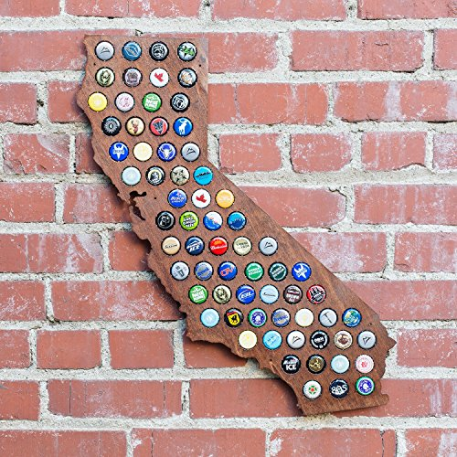 Dark-California-Beer-Cap-Map-Craft-Beer-Cap-Holder-0