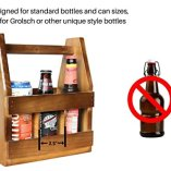 Teikis-Wooden-Beer-Carrier-with-Bottle-Opener-and-Magnetic-Cap-Catch-0-2