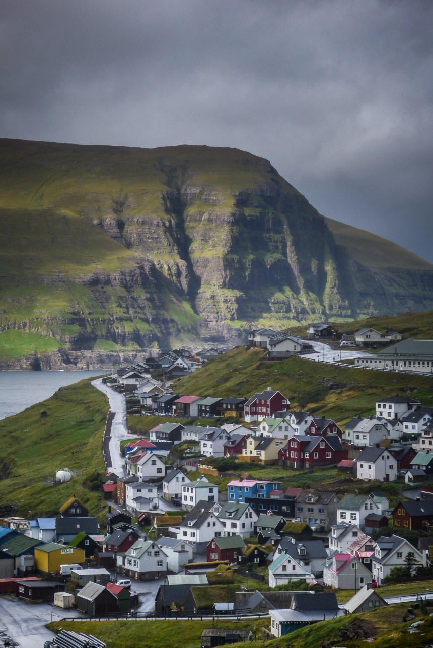 Eiði - a village in the middle of the north atlantic