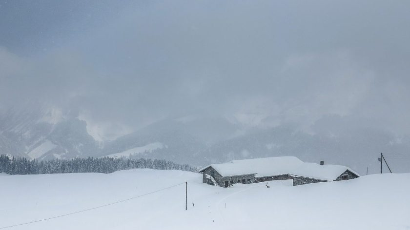 a wonderful walking through a winter wonderland