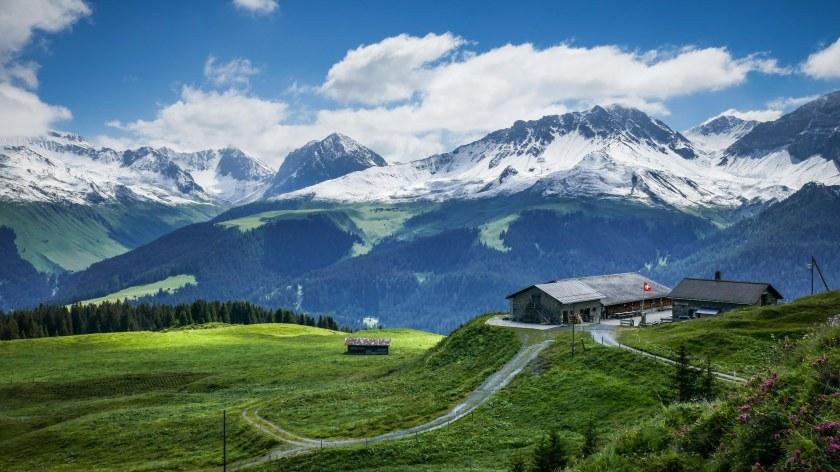 Prätschalp Arosa Switzerland