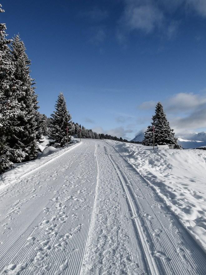 Winterwanderwege Arosa